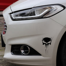 Load image into Gallery viewer, Skull BLOOD Vinyl Car Sticker