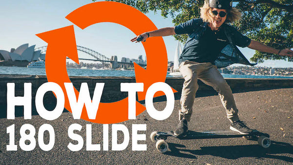 How To Slide An Electric Skateboard