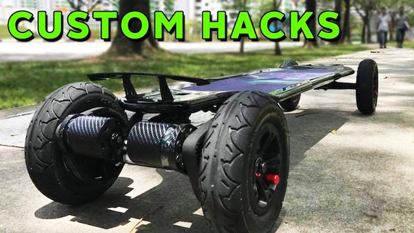 Customs Hacks For Your Evolve Skateboard
