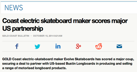 Evolve Skateboatds in Media- Evolve Skateboards