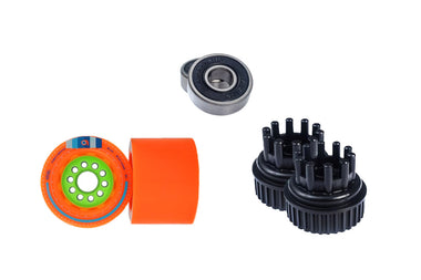 Orangatang Kegel Wheel Kit (80mm 80a Orange)