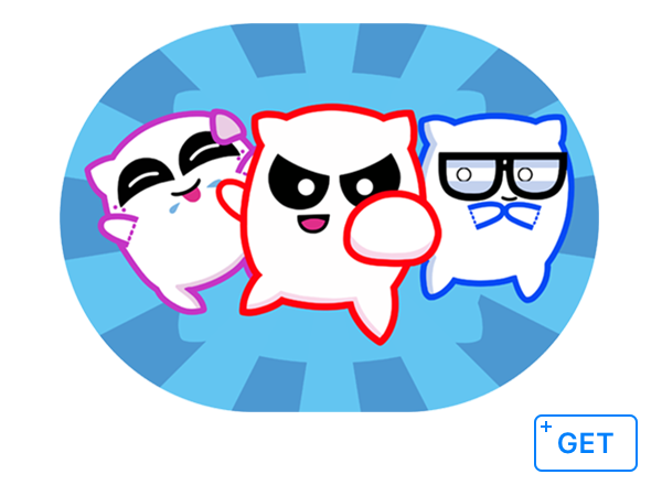 Pillow Fighters Stickers for iOS 10!