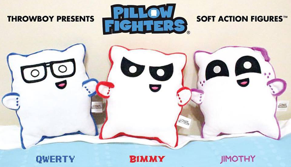 Introducing Pillow Fighters — Soft Action Figures!