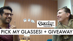 Throwboy Vlogs 005 | Pick My Glasses! + Giveaway!