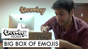 Throwboy Vlogs 014 | Big Box of Emojis