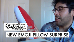 Throwboy Vlogs 030 | New Emoji Pillow Surprise