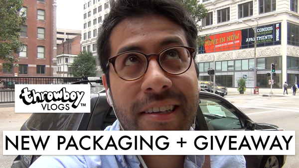 Throwboy Vlogs 007 | New Packaging + Giveaway