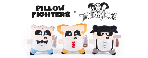 Pillow Fighters Three Stooges collection by Throwboy promo image