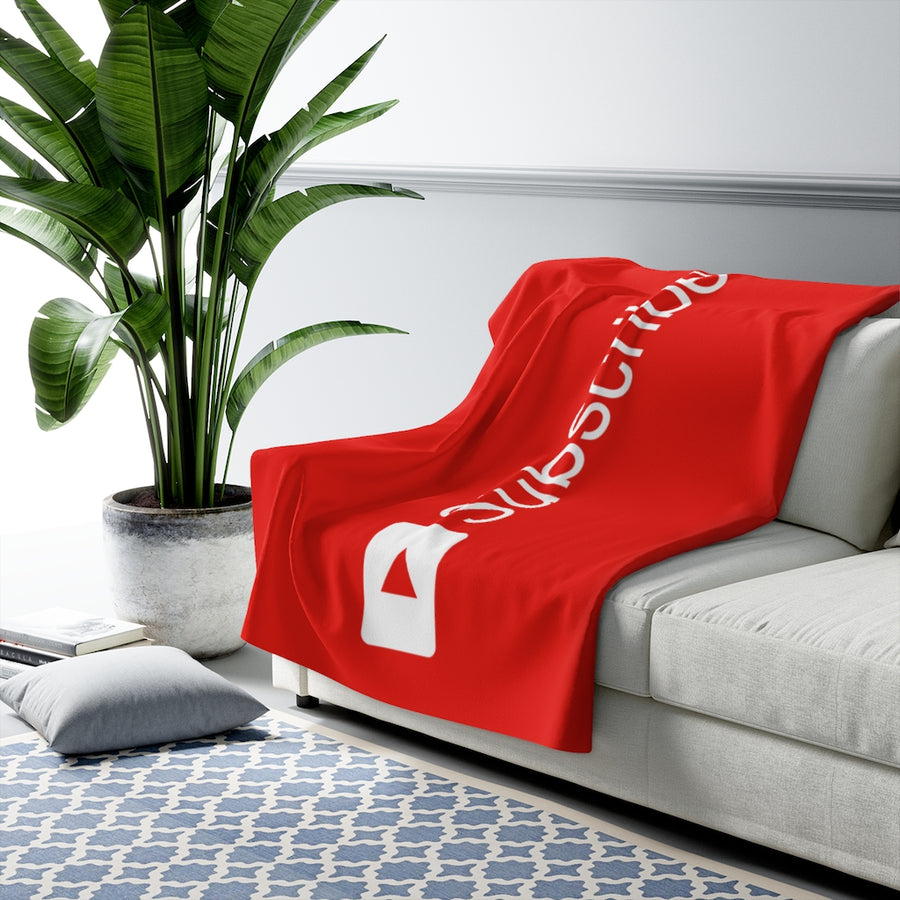 Subscribe Throw Blanket