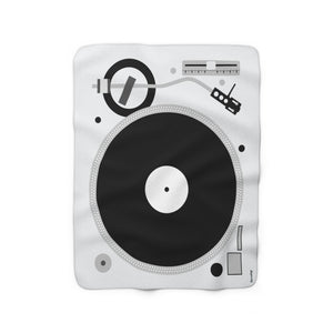 Turntable Throw Blanket