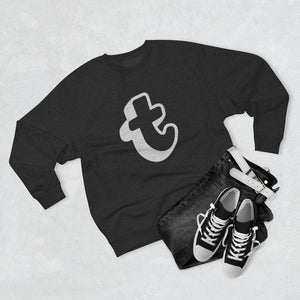 "Throwboy ""t"" Logo Sweatshirt Charcoal"