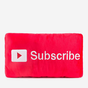 Subscribe Button Pillow