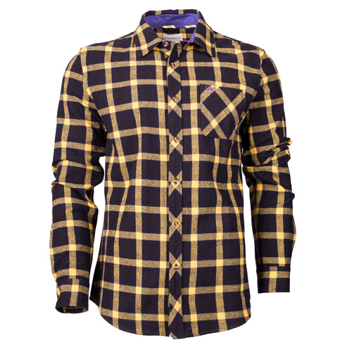 Sweetham Check Shirt Ochre Check