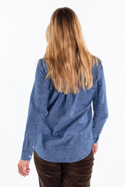 """Teme"" Ladies Chambray Shirt"