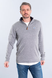 """Litton"" 1/4 Zip Knit"