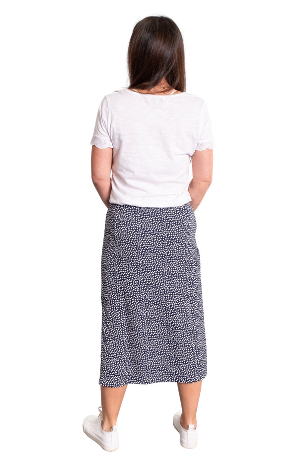 """Swincombe"" Printed Skirt"