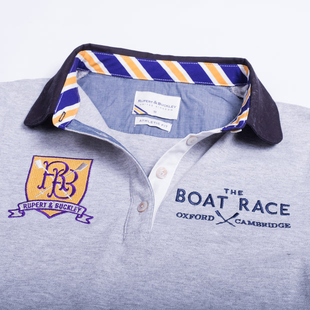 The Boat Race Retail Range Ladies Polo - Sport Grey