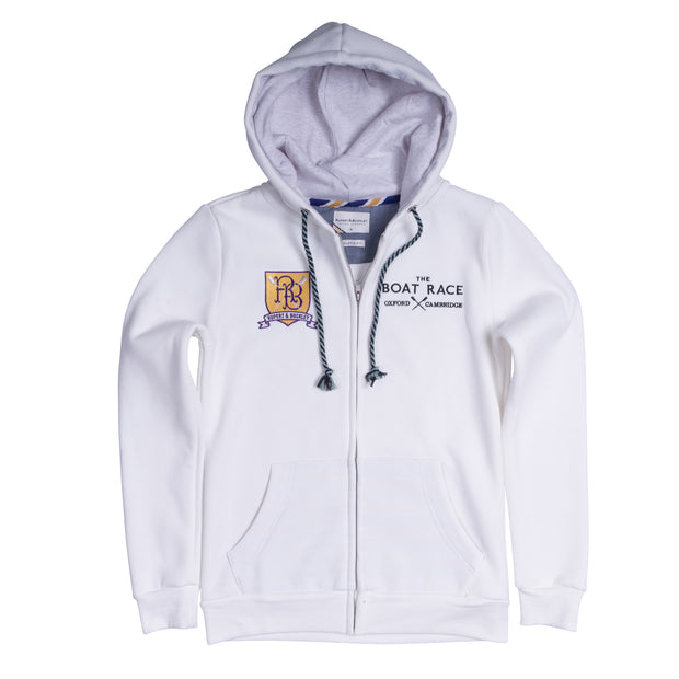 The Boat Race Retail Range Ladies Hoodie - White.