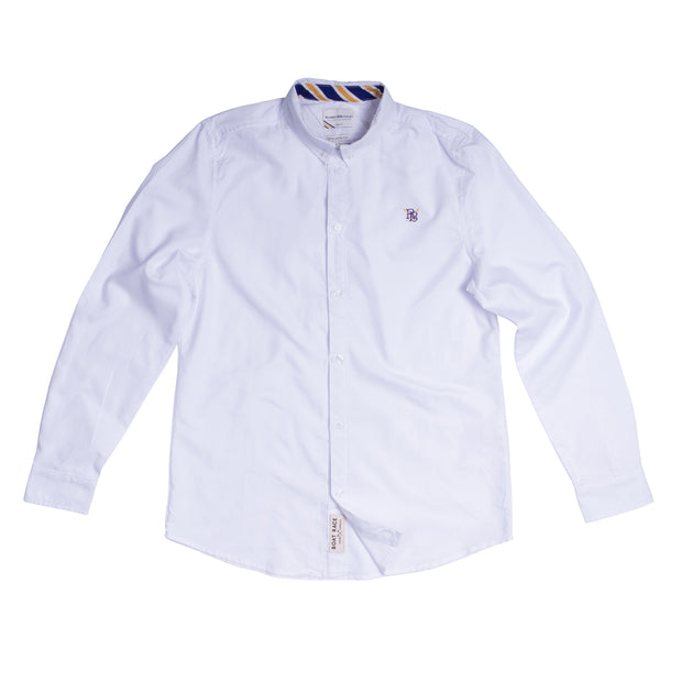 The Boat Race Retail Range Mens Oxford Shirt - White