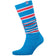 Blue/Red Boot Socks For Men/Women