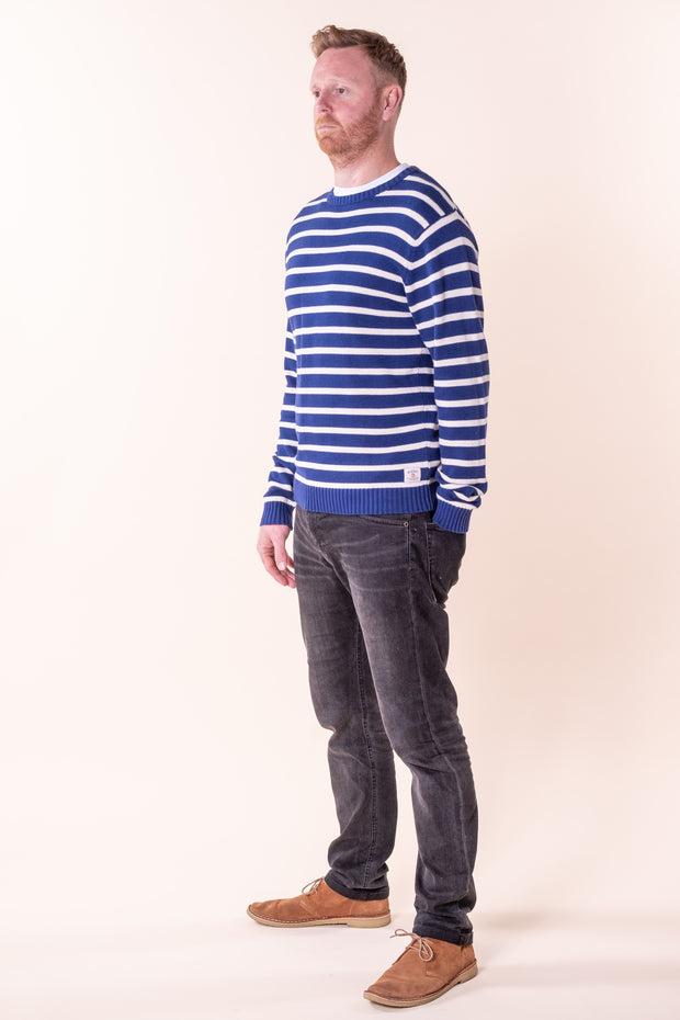 Selworthy Striped Knit Jersey