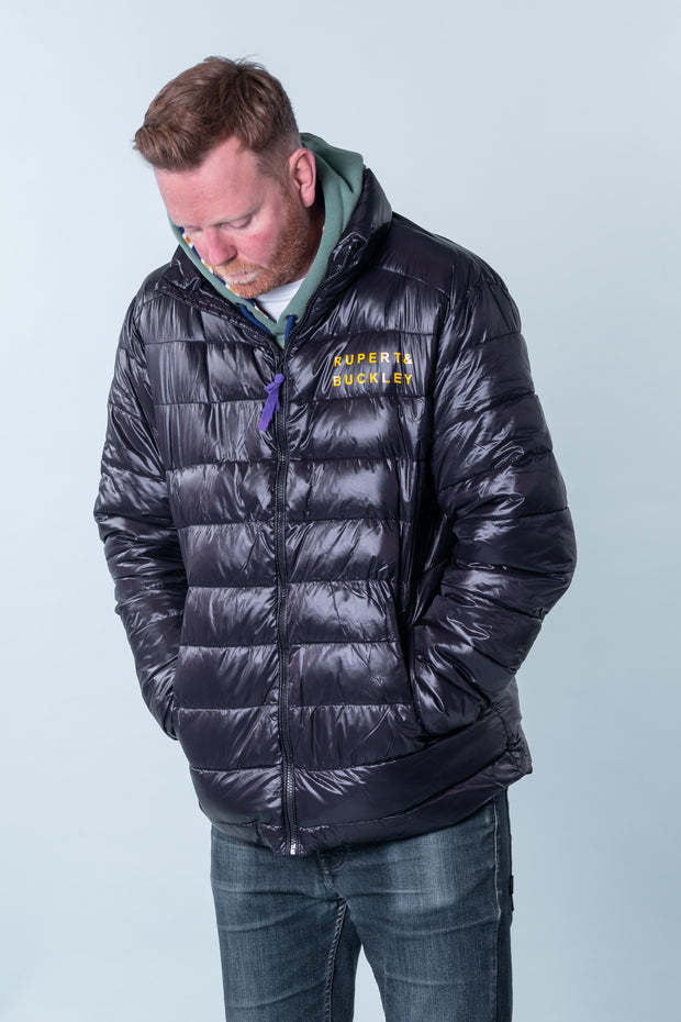 Tivington Quilted Jacket Charcoal