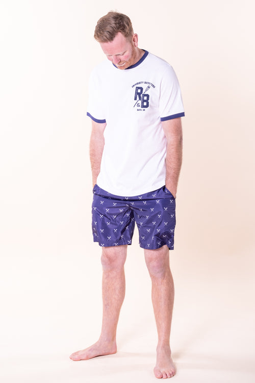 Tiverton Print Swim Shorts