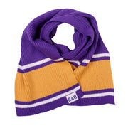 Preston Stripe Knit Scarf