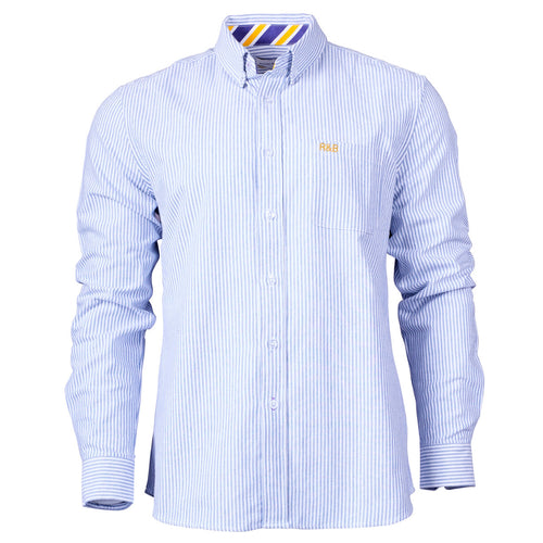 Bruton Oxford Fine Stripe Shirt