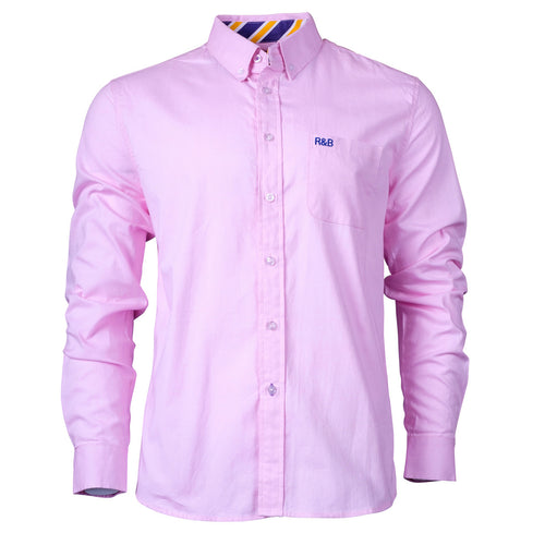 Chard Fine Plain Oxford Shirt