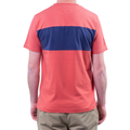 Winkleigh Chest Stripe T-Shirt Sports Red
