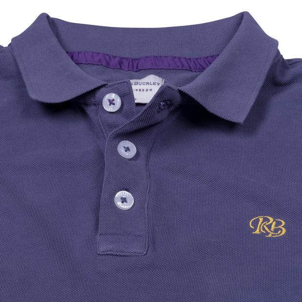 Ashcombe Pique Polo Sea Navy