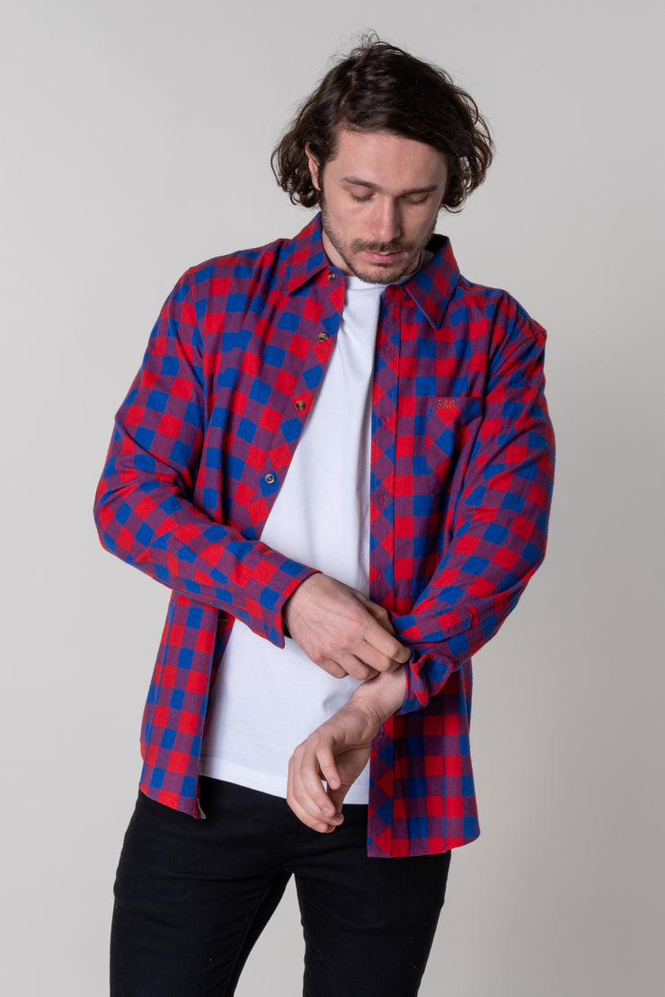 Luckwell Check Shirt In Red