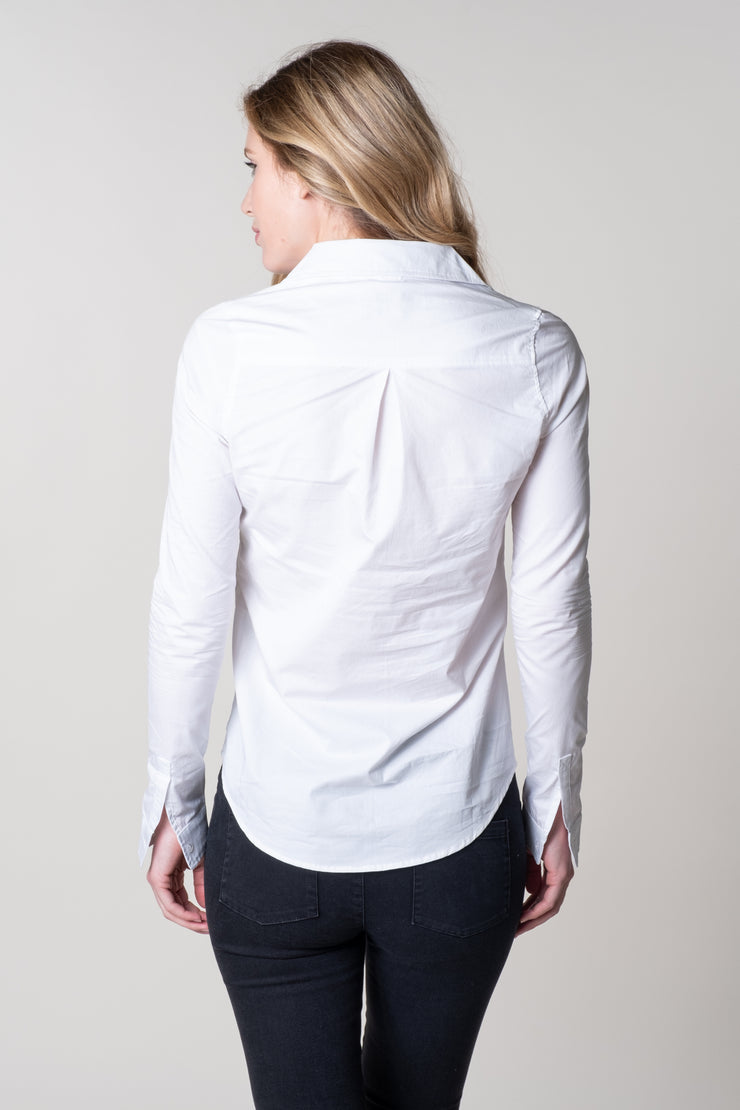 Clovelly Classic Shirt In White