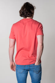 Yarcombe Graphic T-Shirt In Coulis