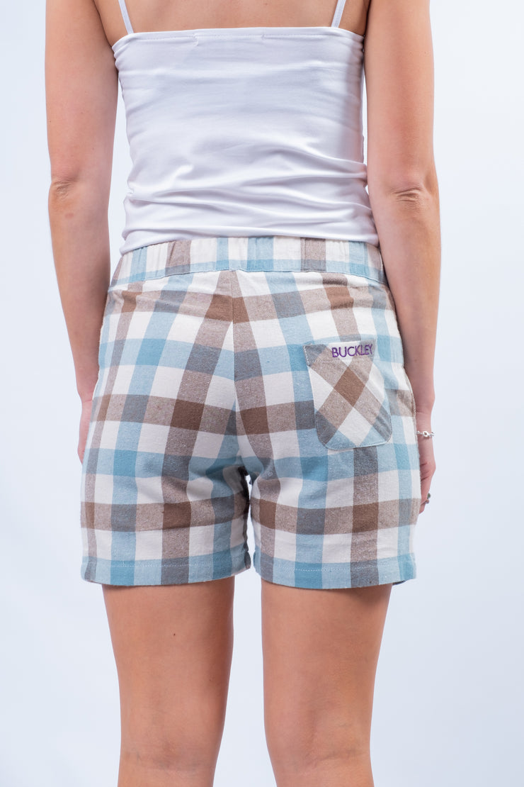 Bideford Lounge Shorts In Cream Check