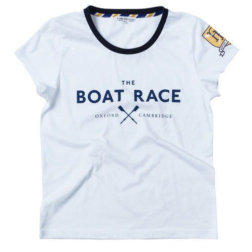 The Boat Race Retail Range Ladies Tee - Ice White