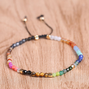 Tibetan Bracelet for Balance and Healing 7 Chakras