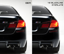 Load image into Gallery viewer, BMW 5 Series 2010-2013 (F10 Pre LCI) BLACKLINE Taillight Overlay Kit