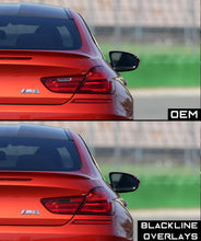 Load image into Gallery viewer, BMW 6 Series 2011-2018 (F06/F12/F13) BLACKLINE Taillight Overlay Kit