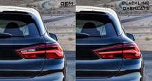 Load image into Gallery viewer, BMW X2 Series 2019+ (F39) BLACKLINE Taillight Overlay Kit
