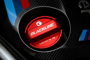 BMW M Car Series BLACKLINE Performance Edition RED Oil Cap Cover