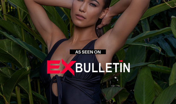 As Seen on ExBulletin | SWIMINISTA presents the little black swimsuit dress