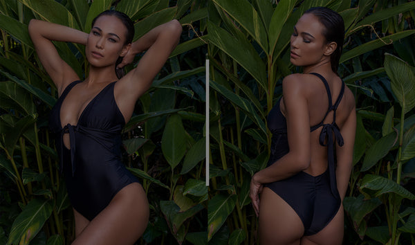 The Power of the Little Black Bathing Suit
