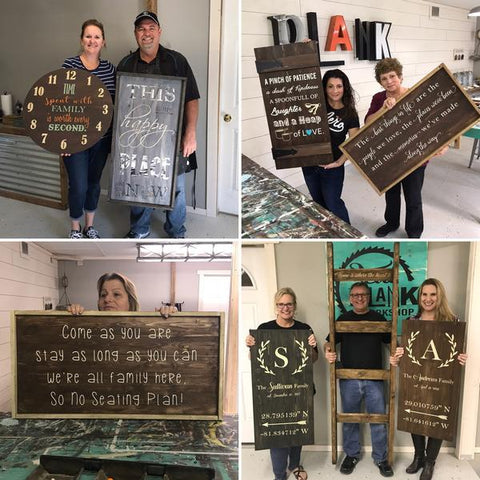 3 Foot  Plank Sign PRIVATE PARTIES