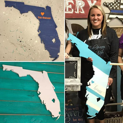 Florida Cutout PRIVATE PARTIES