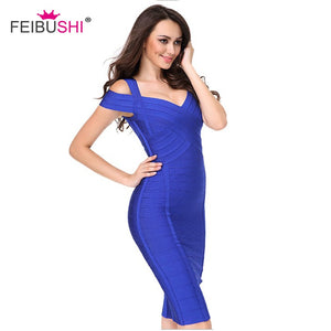 PAINTED CURVE Bodycon Prom Dress