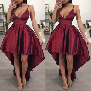 Women Strap V neck Long Formal Dress Party Ball Gown Evening Ladies Fashion Dresses