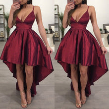 Load image into Gallery viewer, Women Strap V neck Long Formal Dress Party Ball Gown Evening Ladies Fashion Dresses