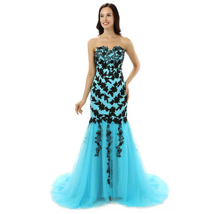 MERMAID GARDEN Formal Tulle Dress